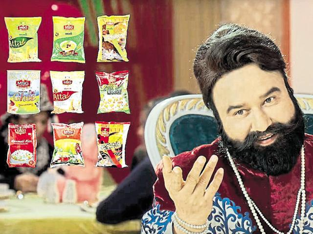 """""""He is not selling kerosene. He is 'sau-par-sent', 100%, pure, after all, only selling the 'MSG' brand of food products in an advertisement made with all the finesse of Bollywood from the '80s."""""""
