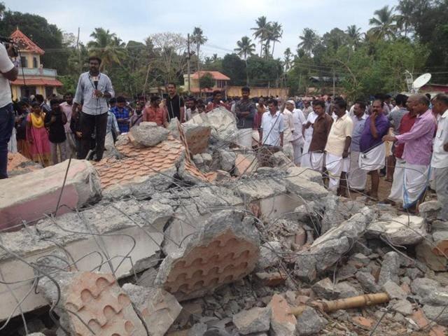 Kerala Temple fire
