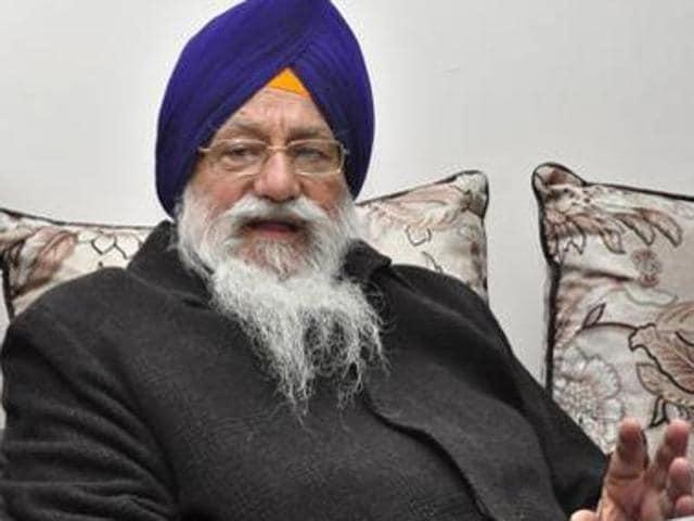 SGPC president Avtar Singh Makkar