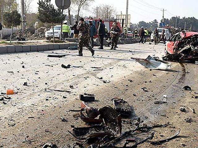 Explosions in Kabul,Afghanistan,John Kerry in Afghanistan