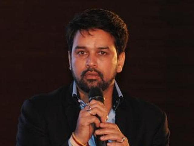 BCCI secretary Anurag Thakur said the Maharashtra government can use the money earned from IPLmatches in the state to assist drought-affected areas.