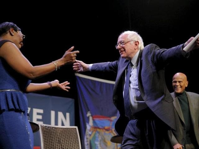 Clinton though remains the clear frontrunner for the Democratic party presidential ticket for November's general election, but Sanders has the momentum and has enjoyed a string of successes at the polls in recent weeks.