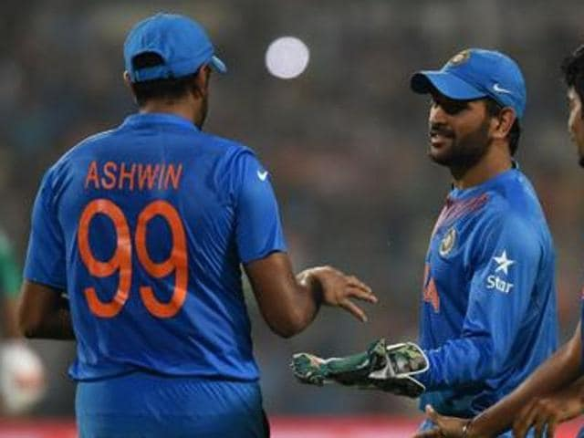 Dhoni said he under-bowled R Ashwin because, with the upper hand against Mumbai, he thought it best to give newcomer M Ashwin his full quota of four overs.