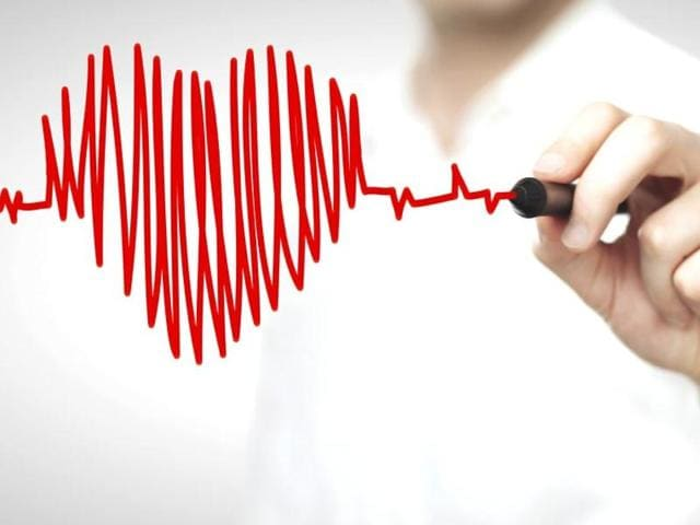 In atrial fibrillation, the most common type of irregular heartbeat, the heart's two small upper chambers (atria) beat irregularly and too fast, which may increase the risk of stroke, heart failure and other conditions. The risk rises with age.