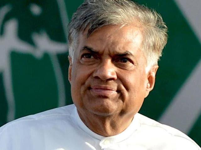 File Photo of Sri Lankan Prime Minister Ranil Wickremesinghe