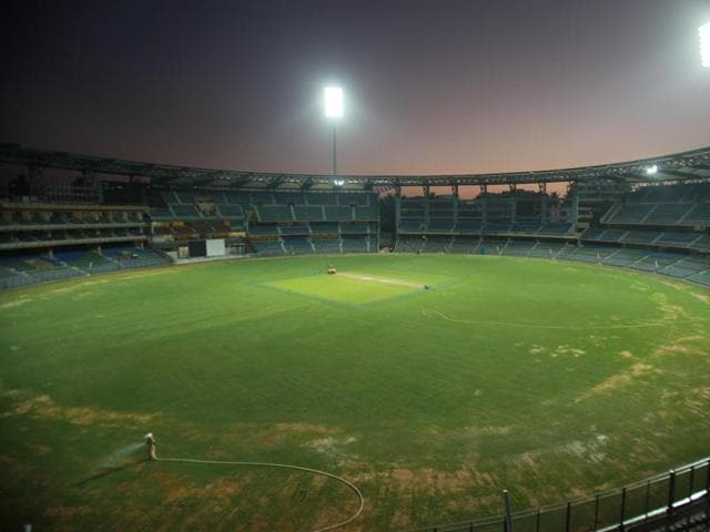 Civic officials said they have no way to check whether potable water is being used for the upkeep of the Wankhede Stadium grounds.