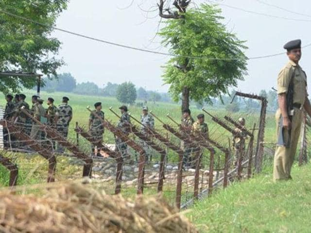 During a search operation launched following the gun battle, the BSF seized the nine packets of heroin.