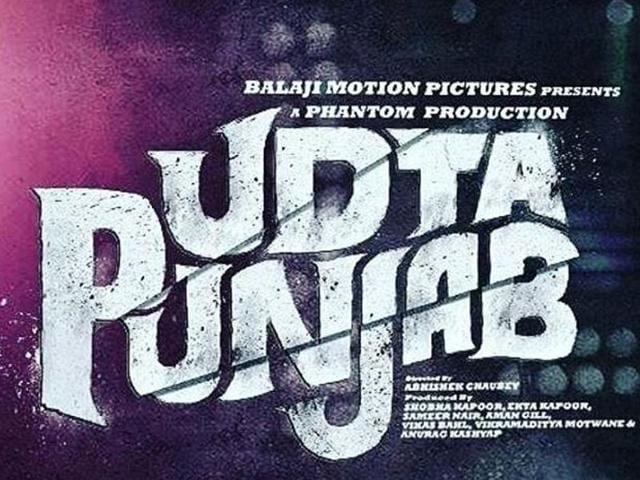 The poster of Udta Punjab. (Twitter)