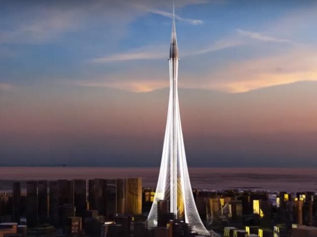 The $1 billion-skyscraper will be decked with rotating balconies and elevated landscaping inspired by the Hanging Gardens of Babylon.