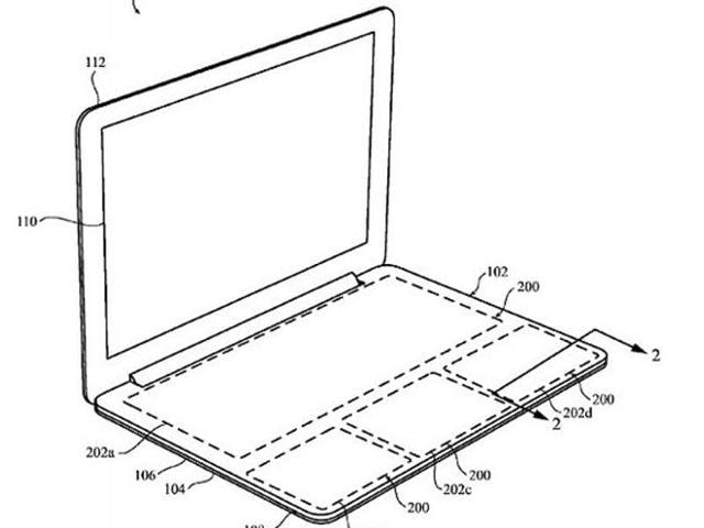 A new patent filed by Apple suggests that traditional keyboards might be replaced by a touchpad which uses pressure-sensitive technology and haptic feedback