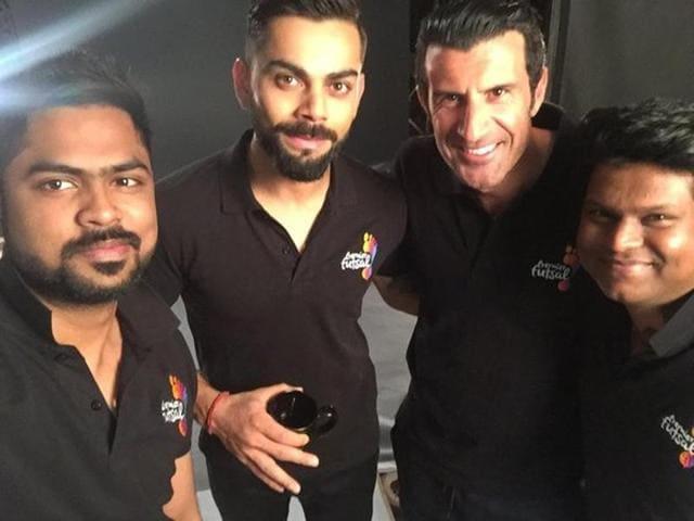 Virat Kohli has joined the recently-announced Premier Futsal football league as its brand ambassador.