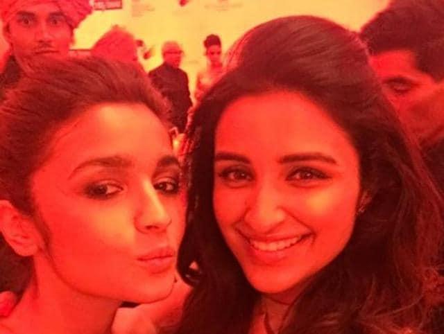 Alia Bhatt and Parineeti Chopra are good friends in Bollywood. (Twitter)