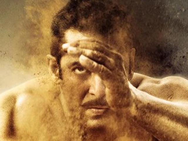 Sultan ka Pehla Daav, writes Salman Khan.