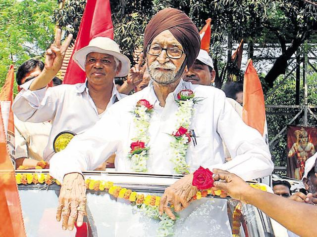 At 92, Congress candidate Gyan Singh Sohanpal has a long way to go even after 10 assembly victories from the same constituency.