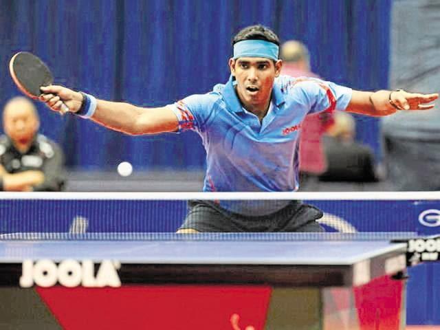 Achanta Sharath Kamal,table tennis,PSPB Inter Unit Table Tennis Tournament