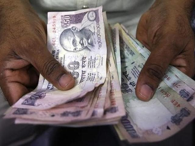 Rupee strengthened by 10 paise to 66.37 against the dollar in early trade on Monday.