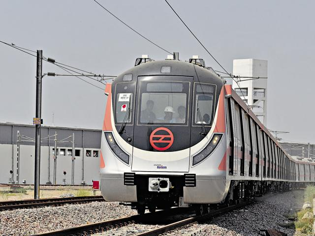 The earthquake felt in the city around 4pm on Sunday, affected the services of the Delhi Metro briefly, delaying trains by around 2-3 minutes in every station.
