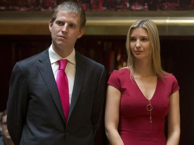 Eric Trump and Ivanka Trump have campaigned extensively with their father, but both missed the deadline for registering as Republicans to vote in the New York primary on April 19.