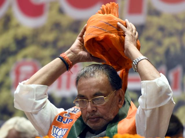 Union agriculture minister Radha Mohan Singh's helicopter trip in drought-hit Maharashtra kicked up a storm after a BJP worker alleging that 10,000 litres of water was used to prepare a makeshift helipad.