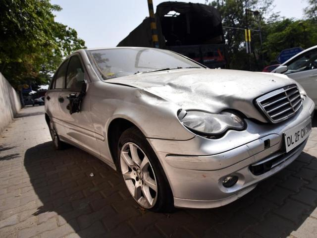 Mercedes hit-and-run case