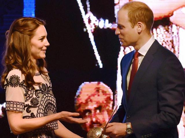 Royal India visit