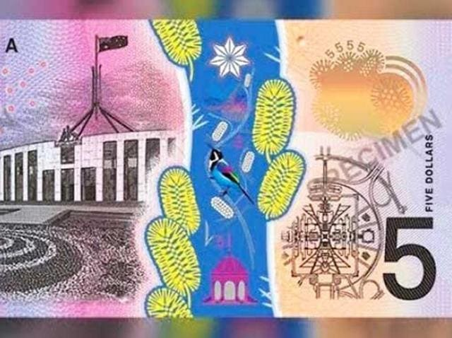 """Our new fivers look like vomit,"" one user wrote on Twitter, while another quipped: ""A thousand monkeys with a thousand versions of Photoshop could never come up with something as hideous as the new Australian $5 note."""