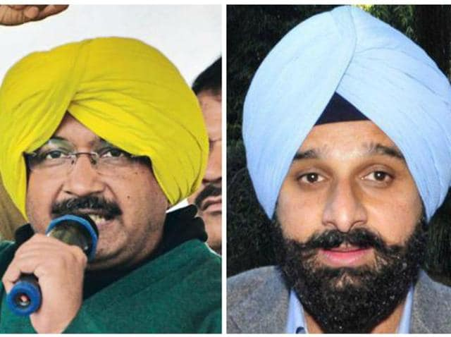 """Kejriwal opposed construction of the SYL canal when he was in Punjab and spoke in favour of water for all when he was in Delhi,"" Majithi said."