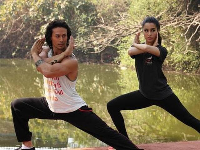 Tiger, Shraddha in a still from Baaghi. (YouTube)