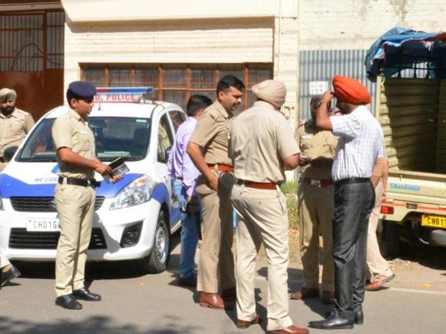 two-year old dead,Chandigarh,dog eaten body