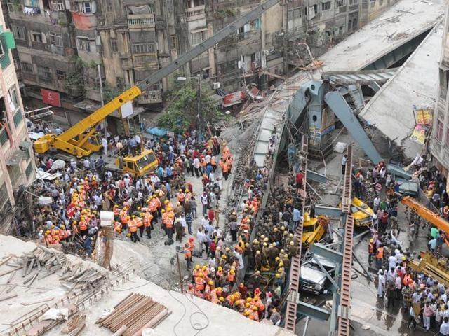 Kolkata,collapse,Noida
