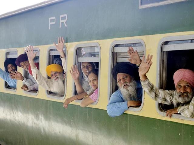 Sikh historical shrines,special trains from Attari,SGPC