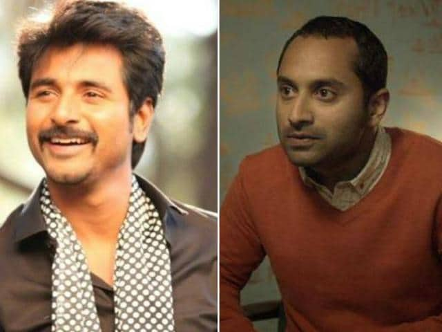 Sivakarthikeyan and Fahadh Faasil will soon be seen together in Mohan Raja's next Tamil film.