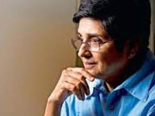Former IPS officer Kiran Bedi