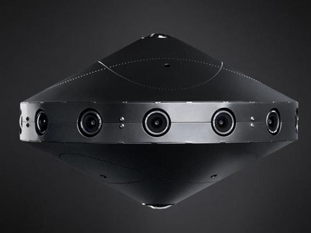 Facebook unveiled its own 360-degree stereoscopic 3D video camera at the F8 developer conference