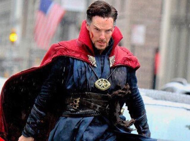 Benedict Cumberbatch as Doctor Strange in Marvel's mind-bending film.