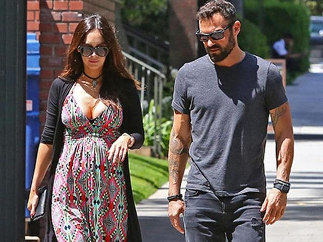 Megan Fox and estranged husband Brian Austin Green were spotted together in Santa Monica.