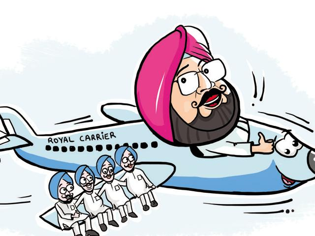 But like a true-blue royal, the former Patiala scion has instructed his team not to hold fundraisers like the Aam Aadmi Party (AAP), though non-resident Indians (NRIs) are known to donate generously to political parties back home.