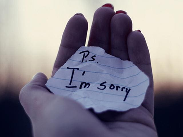 Scientists have now given us six components to an apology, which can make our 'sorry' more effective.