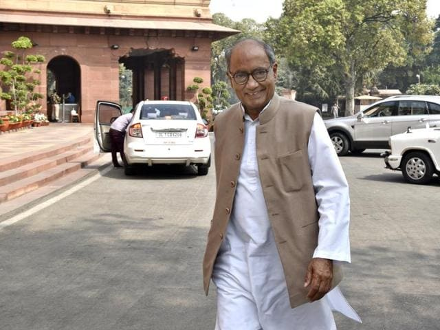 """Responding positively to Nitish Kumar's call for the """"largest possible unity"""" among parties to defeat the BJP in the 2019 Lok Sabha polls, Congress General Secretary Digvijaya Singh said his party is ready to work with the newly-elected JD(U) chief at the national level."""
