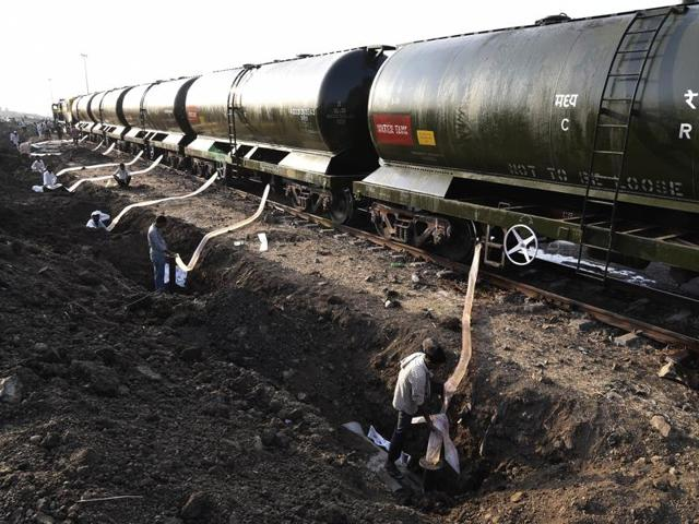 The 'water express' with 10 water wagons reached Latur in drought-affected Maharashtra on Tuesday. APILhad sought Supreme Court directions in states to implement schemes meant for drought-hit regions.