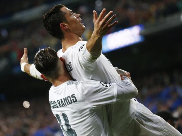 Real Madrid vs Wolfsburg,Cristiano Ronaldo,ROnaldo hattrick