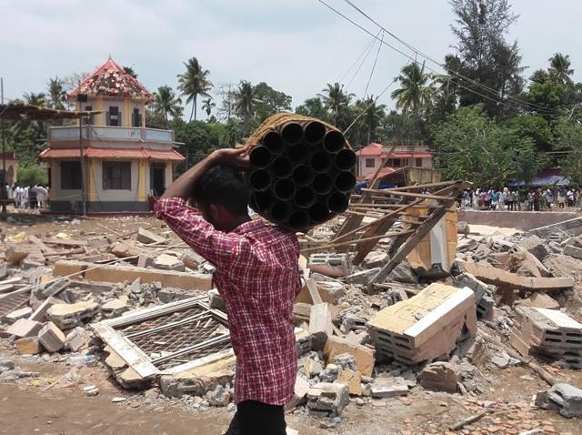 Fire tragedies,Fire tragedies in India,Kollam temple