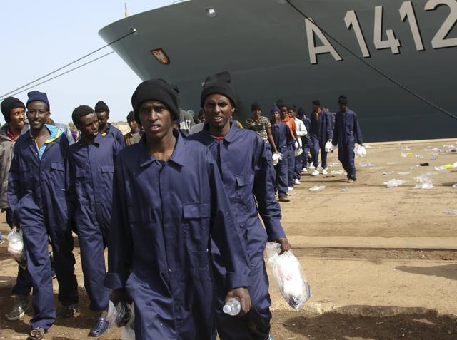 migrants,Europe,north Africa