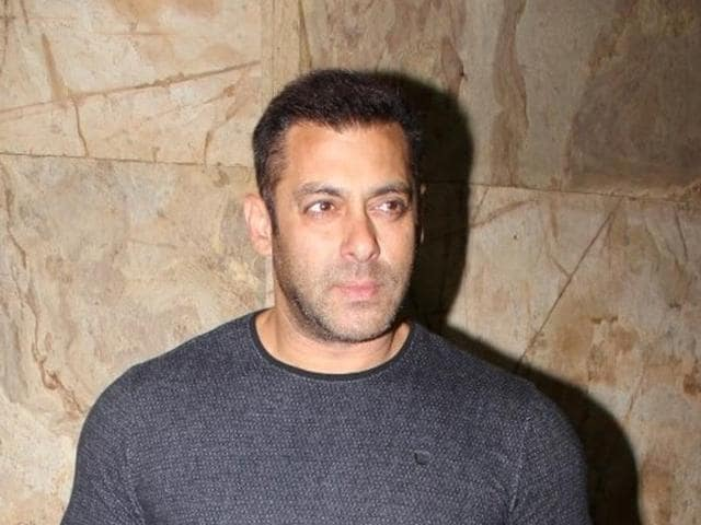 Salman Khan during the special screening of film The Jungle Book in Mumbai, on April 8, 2016.