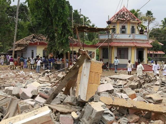 Kerala temple fire,Kerala tragedy,Kollam tragedy