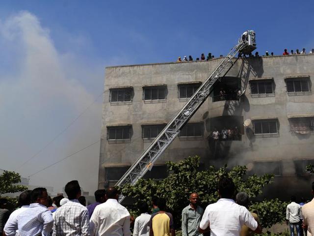 Bhiwandi fire,Mumbai