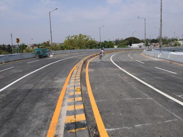 Habibganj railway over bridge