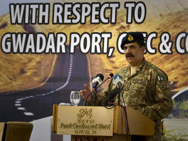 Pak army chief accuses India of sabotaging economic corridor with China