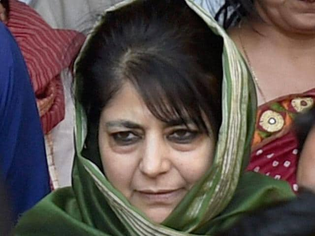 Jammu and Kashmir chief minister Mehbooba Mufti raised the issue of Handwara firing with defence minister Manohar Parrikar.