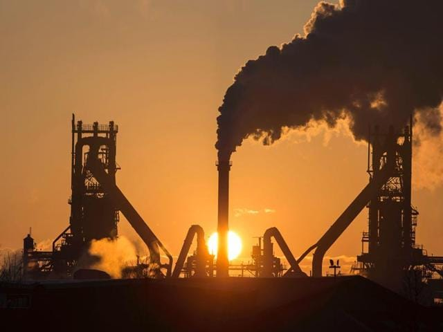 Tata Steel's blast furnaces at their Scunthorpe Plant in northeast England. Tata Steel began the formal sale of its loss-making British arm on April 11, 2016, as it announced it was selling its Scunthorpe plant for a nominal fee.
